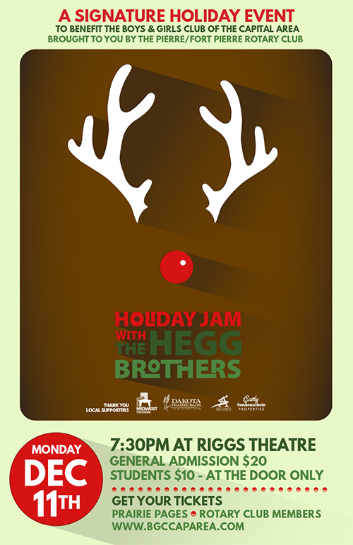 Holiday Jam poster 2017